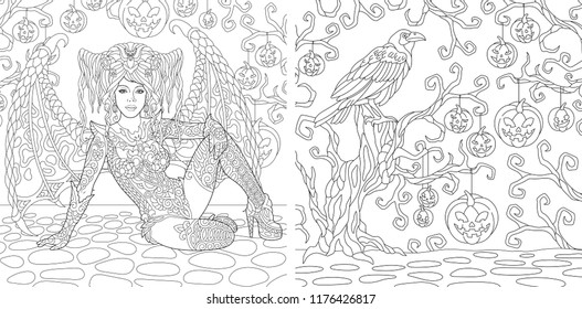 Coloring Book Pages Images, Stock Photos & Vectors Shutterstock