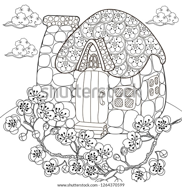 Free Cherry Blossom Coloring Pages, Download Free Clip Art, Free ... | 620x600
