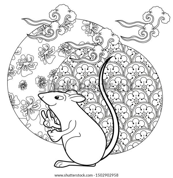 Free Printable New Years Coloring Pages For Kids | 620x600