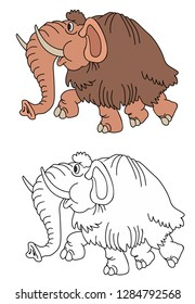 coloring pages for childrens with funny animals