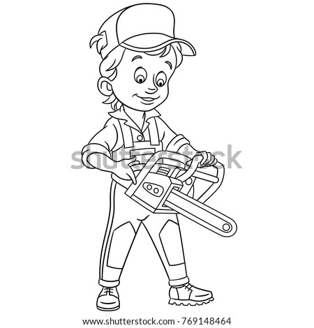 Coloring Pages Kids Design Childrens Colouring Stock Vector Royalty