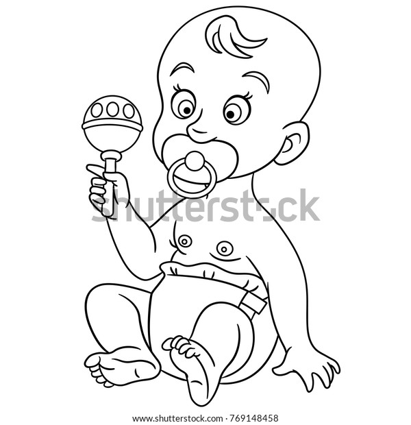- Coloring Pages Kids Design Childrens Colouring Stock Vector (Royalty Free)  769148458