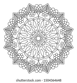 Coloring pages mandala for adults.