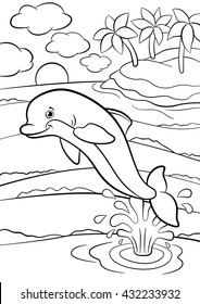coloring pages marine wild animals 260nw