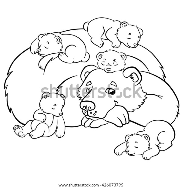 Coloring Pages Wild Animals Kind Bear | Animals/Wildlife ...