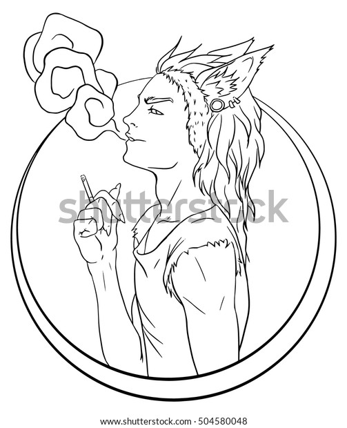 Fashion Man Coloring Page - Crayon Action Coloring Pages | 620x503