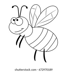 Bee Coloring Hd Stock Images Shutterstock