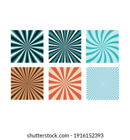 colors radial icon on a white background
