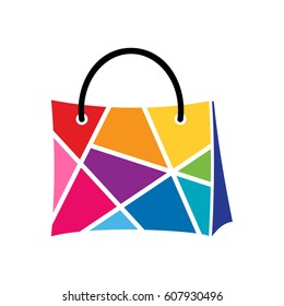 Colors Shopping Logo Template