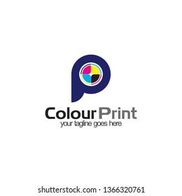 colour print logo design
