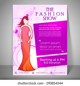 Fashion Show Poster Images, Stock Photos & Vectors | Shutterstock