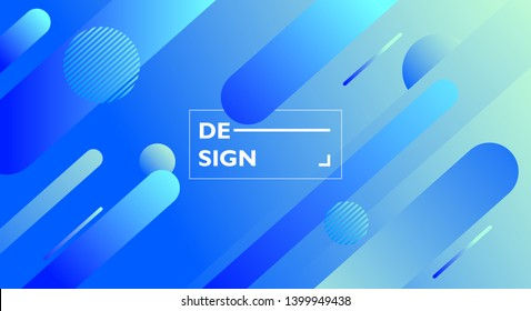 Colourful geometric background. Fluid shapes composition. Abstract background with purple & blue gradient. curvy, wavy, fluid, flowing, irregular shapes. suitable for background, landing page.
