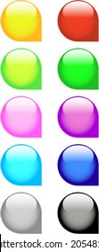 A Colourful Selection Of Web Icons
