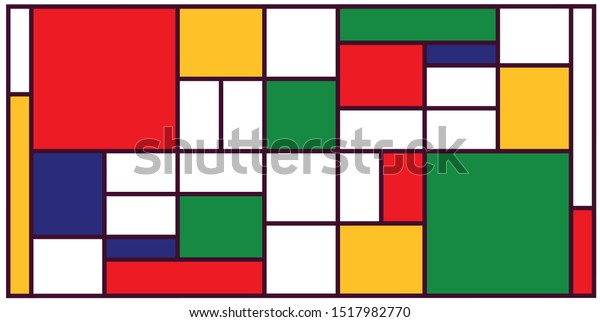 Colours India Indian Abstract Mosaic Pattern Royalty Free
