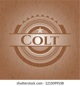 Colt wood signboards