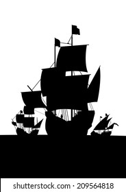 columbus ships vert