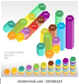 column graphs