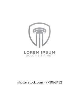 Column Logo for Law Firm Logo Design