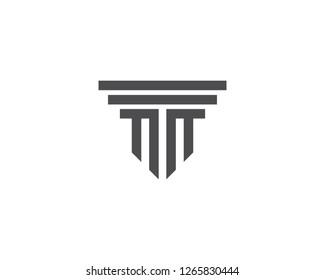 column Logo vector Template