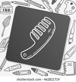 comb doodle