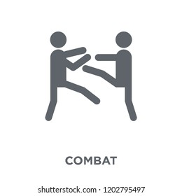combat icon. combat design concept from Army collection. Simple element vector illustration on white background.