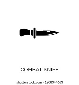 combat knife icon. combat knife symbol design from Army collection.