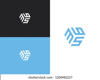 Combined number 365, vector element of the icon template. Set of numbers can be used as a city birthday or as a sports number for competitions. Simple creative geometric sign. Emblem for your design.
