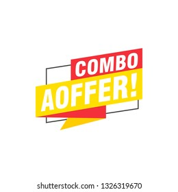 Combo aoffer labels banners