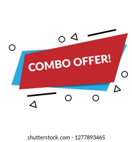 combo offer sign