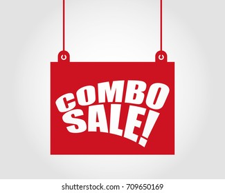 Combo sale. advertising banners