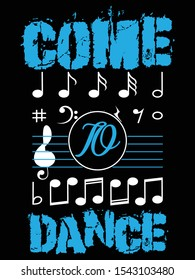 Come to dance Custom T-shirt Free download