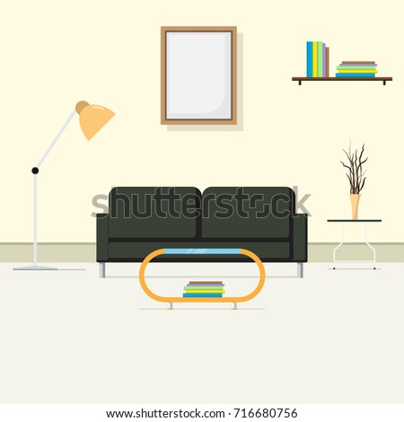 Sensational Comfortable Interior Living Room Room Reception Stock Image Pabps2019 Chair Design Images Pabps2019Com