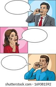 Comic book callers