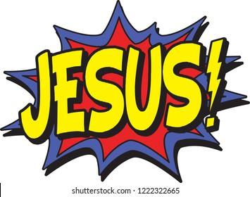 comic burst jesus