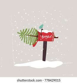 Christmas Mailbox.Christmas Mailbox Images Stock Photos Vectors Shutterstock