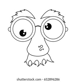 comic face icon