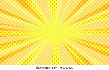 comic halftone background. vector abstract design