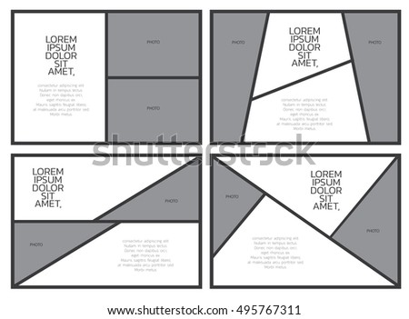 Comic Paper Template Comic Frame Letter Stock Vector (Royalty Free ...