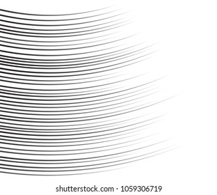 Comic speed lines background Rectangle fight stamp for card Manga or anime, graphic texture, superhero action, explosion background. Black and white vector illustration