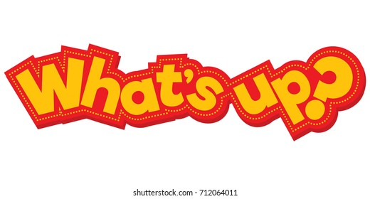 Comic What's up Logo
