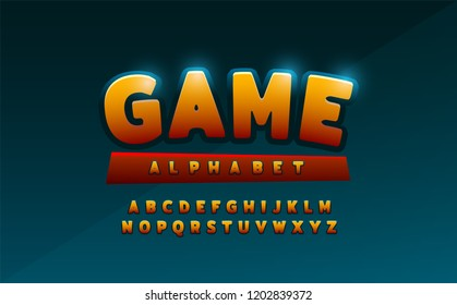 comics alphabet font. Typography comic logo designs concept. vector illustration