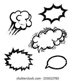 comics balloons