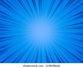 Comics blue background. Super vector illustration for design, text and illustrations.