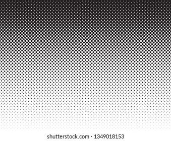 Comics style black white flat gradient pattern vector