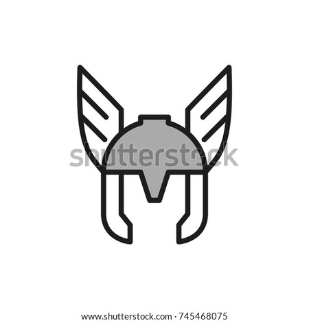 Comics Superhero mask Vector