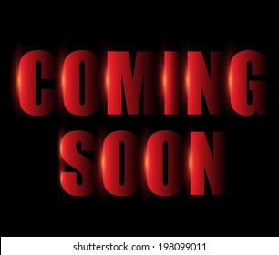 Coming soon text.