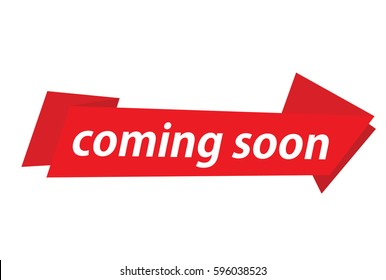 coming soon vector banner