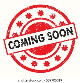 coming soon vector logo stamp
