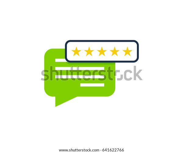 comment testimonial icon logo design element stock vector royalty free 641622766 shutterstock