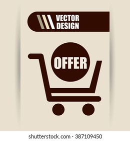 commerce icon design, vector illustration eps10 graphic